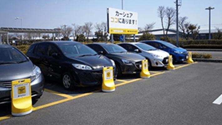 広島県では,広島空港のアクセス利便性向上を目的として,広島空港県営駐車場にカーシェア車両(タイムズカーシェア車両)を設置する社会実験を実施されました